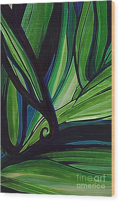 Thicket Wood Print by First Star Art
