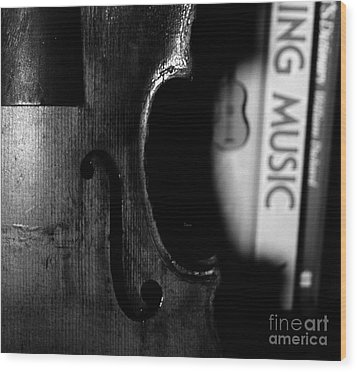 Things That Compose  Wood Print by Steven Digman