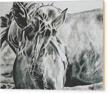Things Were Sweeter In Tennessee Wood Print by Shaila Yovan Tenorio