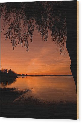 Wood Print featuring the photograph This Is A New Day ... by Juergen Weiss