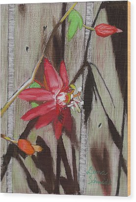 This Is My Passion - Flowers Wood Print