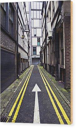 This Way Wood Print