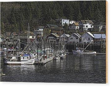 Thomas Basin Alaska 007mas  Wood Print by Timothy Latta