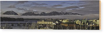 Thomas Basin Alaska Wood Print by Timothy Latta