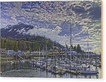 Thomas Basin In The Spring. Wood Print by Timothy Latta