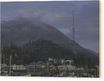 Wood Print featuring the photograph Thomas Basin by Timothy Latta
