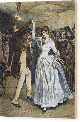 Thomas Hardy, 1886 Wood Print by Granger