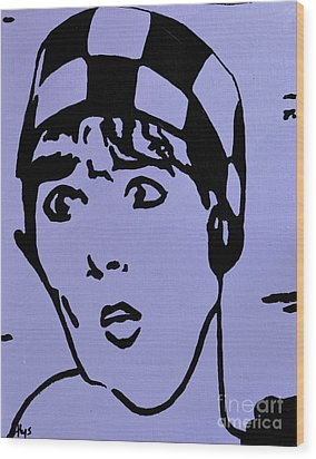Thoroughly Modern Millie Wood Print by Alys Caviness-Gober
