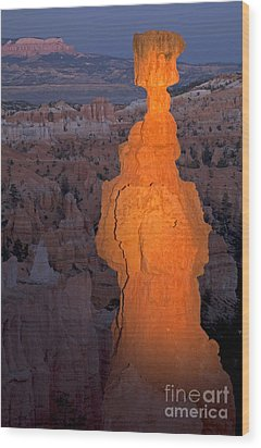 Thors Hammer Sunset Point Bryce Canyon National Park Wood Print