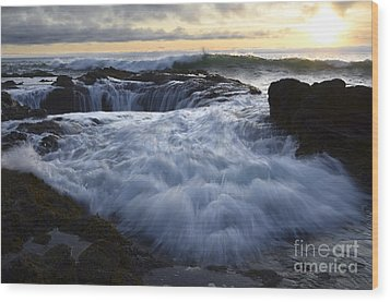 Thors Well 2 Wood Print by Bob Christopher