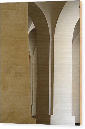 Three Columns Wood Print