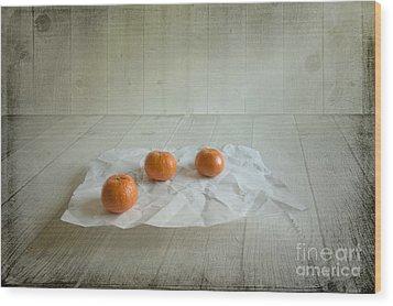 Three Wood Print by Veikko Suikkanen