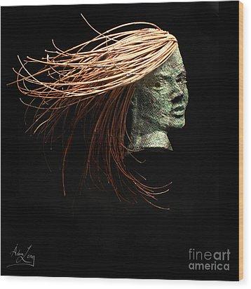 Thrill Wood Print by Adam Long
