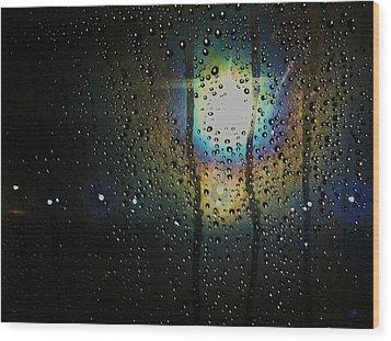 Through My Window Wood Print by Anna Villarreal Garbis