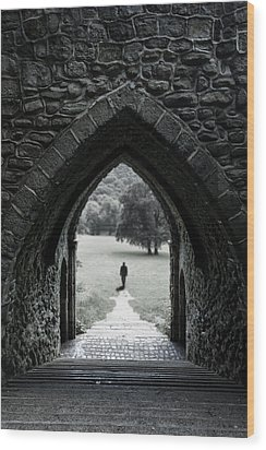 Through The Arch Wood Print by Svetlana Sewell
