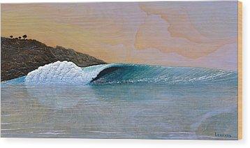 Thunder At The Break Of Dawn Wood Print by Nathan Ledyard