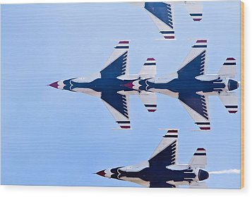 Thunderbirds Wood Print