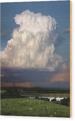 Thunderhead - Greenwood County Wood Print