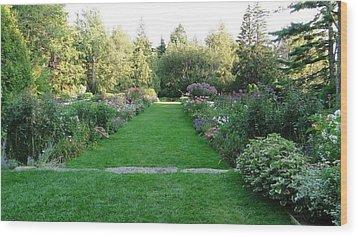 Thuya Gardens In Northeast Harbor Maine Wood Print