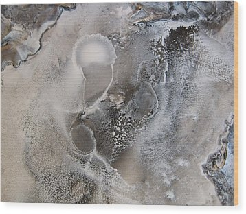 Tide Pool 1 Wood Print