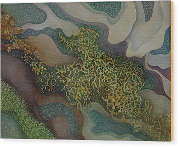 Tidepool Textures Wood Print
