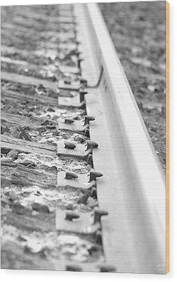 Ties That Bind Us Wood Print by Lisa Knechtel