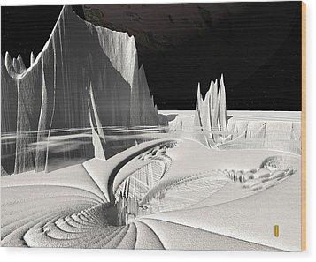 Tifferet 2 Wood Print by David Jenkins