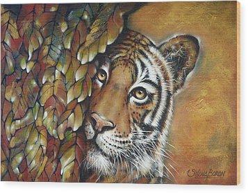 Tiger 300711 Wood Print