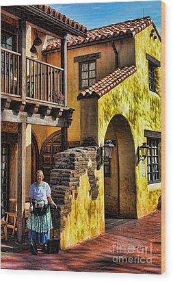 Tijuana Taco House II Wood Print by Lee Dos Santos