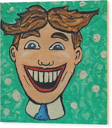 Tillies Surprise Wood Print