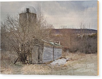 Time Gone By  Wood Print by A New Focus Photography