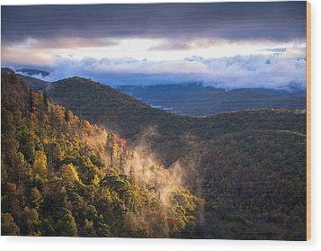 Timeless Sunrise Wood Print by Serge Skiba