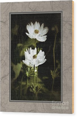 Wood Print featuring the photograph Timeless Two by Darla Wood