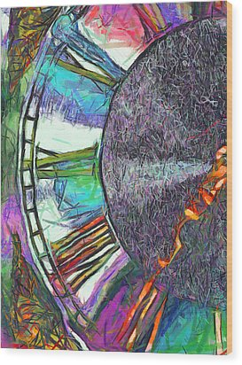 Timing Is Everything Wood Print by Wendy J St Christopher