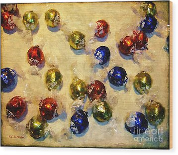 Tinfoiled Truffles Wood Print by RC deWinter