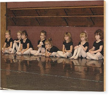 Tiny Dancers Wood Print by Patricia Rufo