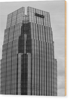 Wood Print featuring the photograph Tip Of The Pinnacle by Robert Hebert