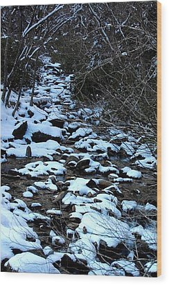 Tn Creek Wood Print by Joyce Brooks