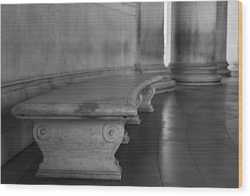 To Quietly Sit And Reflect Wood Print by Andrew Pacheco