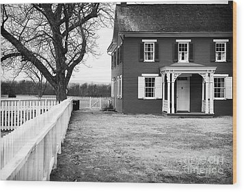 To Sherfy's House Wood Print by John Rizzuto
