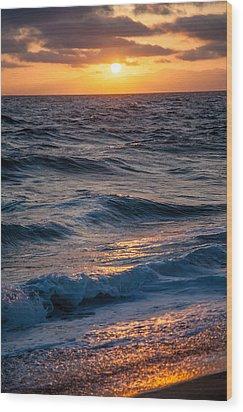 To The Sea Wood Print