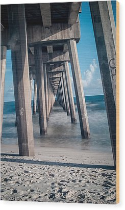 To The World Beyond Wood Print by Jon Cody