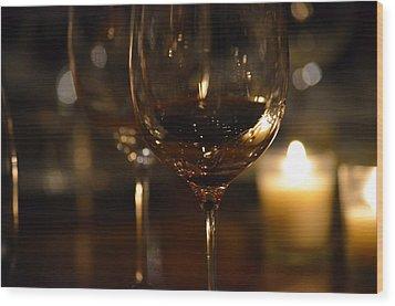 Toast For Wine Lovers 1 Wood Print