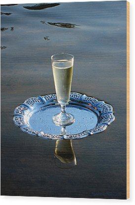 Wood Print featuring the photograph Toast To Life by Leena Pekkalainen