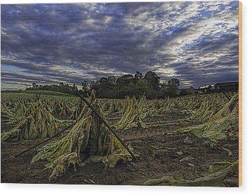 Tobacco Road II Wood Print