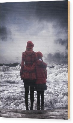 Together We Are Strong Wood Print by Joana Kruse