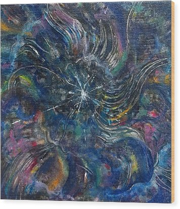Tohu Va Vohu Wood Print by Anne Cameron Cutri