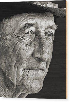 Tom Mccorkel Wood Print by Julie Dant