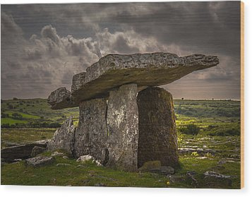 Tomb Of The Ancients Wood Print by Tim Bryan