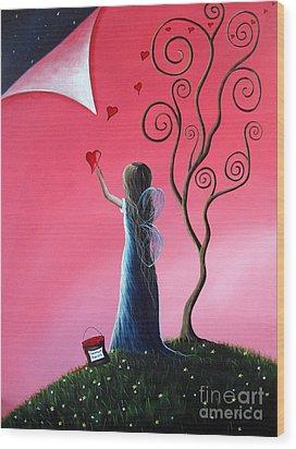 Tomorrow's Promises Are A Dream Away By Shawna Erback Wood Print by Shawna Erback
